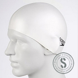 Moulded Silicone Cap Junior White