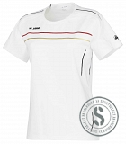 Active - T Shirt Dames - Wit Rood Goud