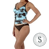 Lilly Stripe 2 Piece Tankini