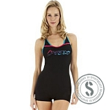 Waveboom Legsuit - Black Mystic PopPink