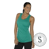 ShapeWear Double Layer Tank - Totally Teal