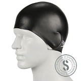 Plain Moulded Silicone Cap - Black