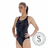 Endurance Liquidturbo Allover Powerback - Navy
