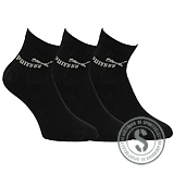 Sport 3 Pair Junior - Black