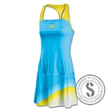 adiZero Dress - Light Aqua Vivid Yellow