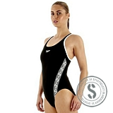 Endurance Monogram Muscleback - Black White