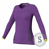 SuperNova LongSleeve Top - Purple
