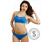 Endurance10 Allover Monogram 2 Piece - Turquoise Purple