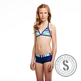 Junior Printed Bikini - Blue