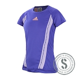 Girls adiZero Tee - Night Flash Orange
