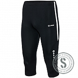 Tight Capri Athletico - Zwart Wit