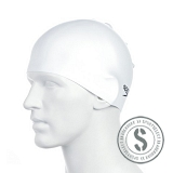 Plain Moulded Silicone Cap - White