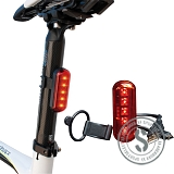 Rear Light WO254 (USB Rechargeable)