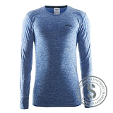 Active Comfort Roundneck Longsleeve Men - Sweater Blue