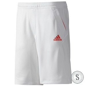 Adidas Barricade Bermuda Shorts - White High Energy