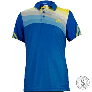 Adidas adiZero Polo - Prime Blue Vivid Yellow
