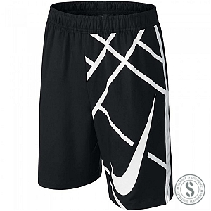 "Nike Nike Power 8"" Shorts - Black White"
