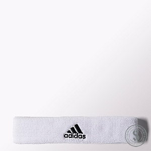 Adidas Tennis Headband - White Black